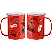 Boelter Cleveland Browns 15oz. Sticker Mug