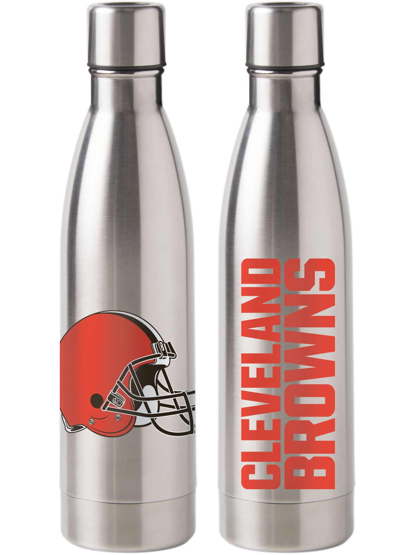 Boelter Cleveland Browns Stainless Steel Water Bottle