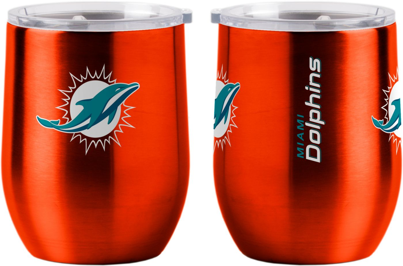 Boelter Miami Dolphins Stainless Steel Wine Tumbler