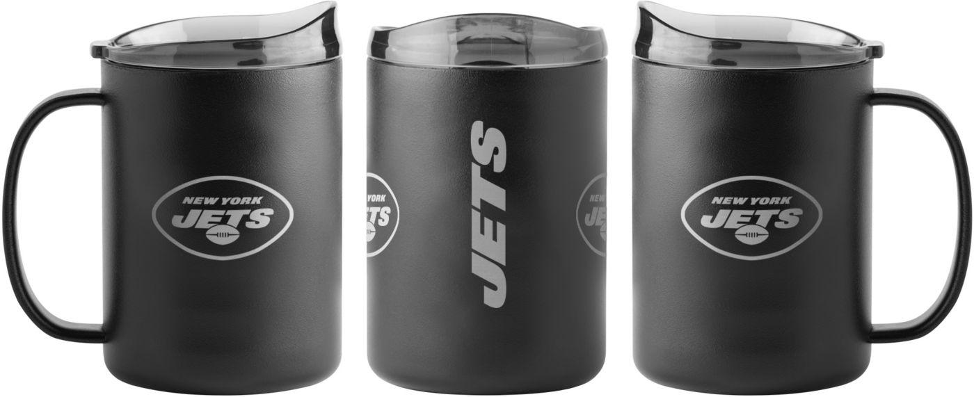 Boelter New York Jets 15oz. Stainless Steel Mug