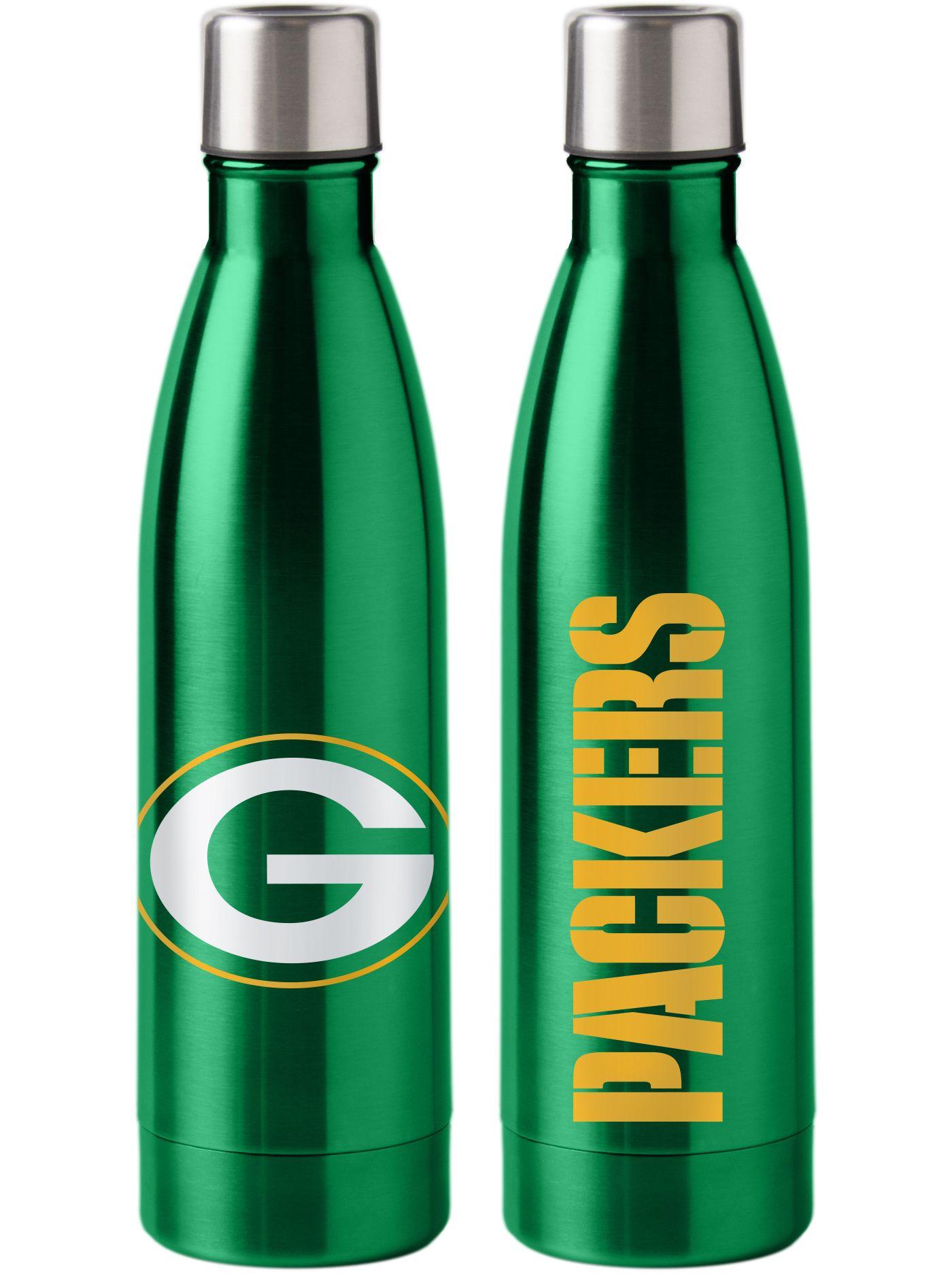 Boelter Green Bay Packers Stainless Steel Water Bottle