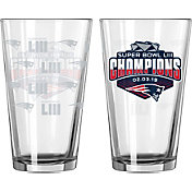Boelter Super Bowl LIII Champions New England Patriots 16oz. Pint Glass