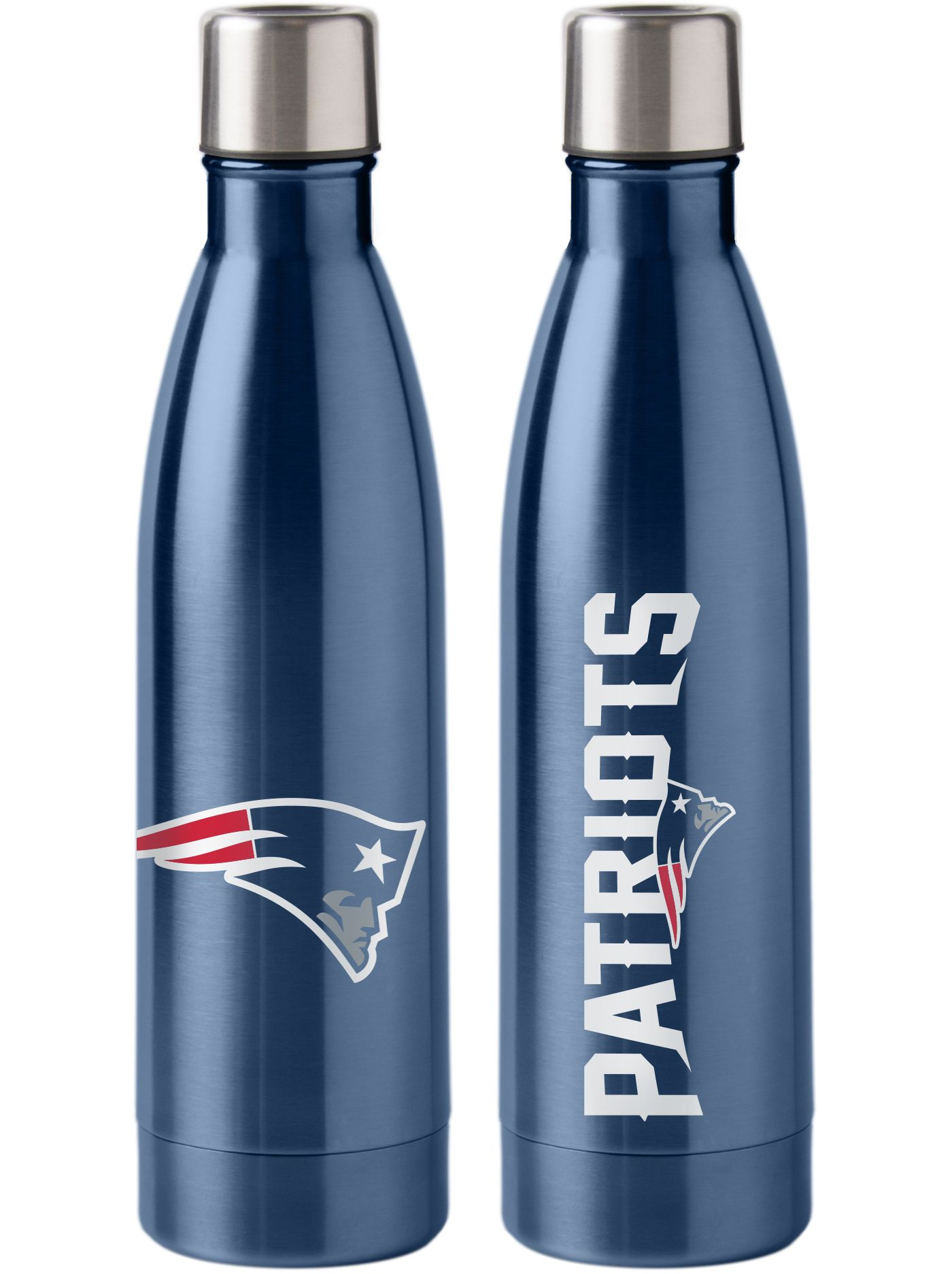 Boelter New England Patriots Stainless Steel Water Bottle