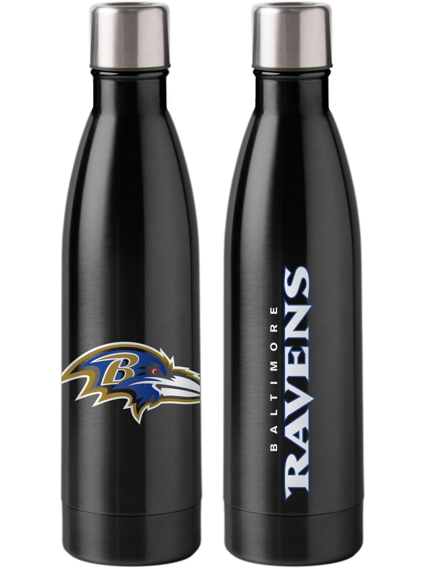 Boelter Baltimore Ravens Stainless Steel Water Bottle