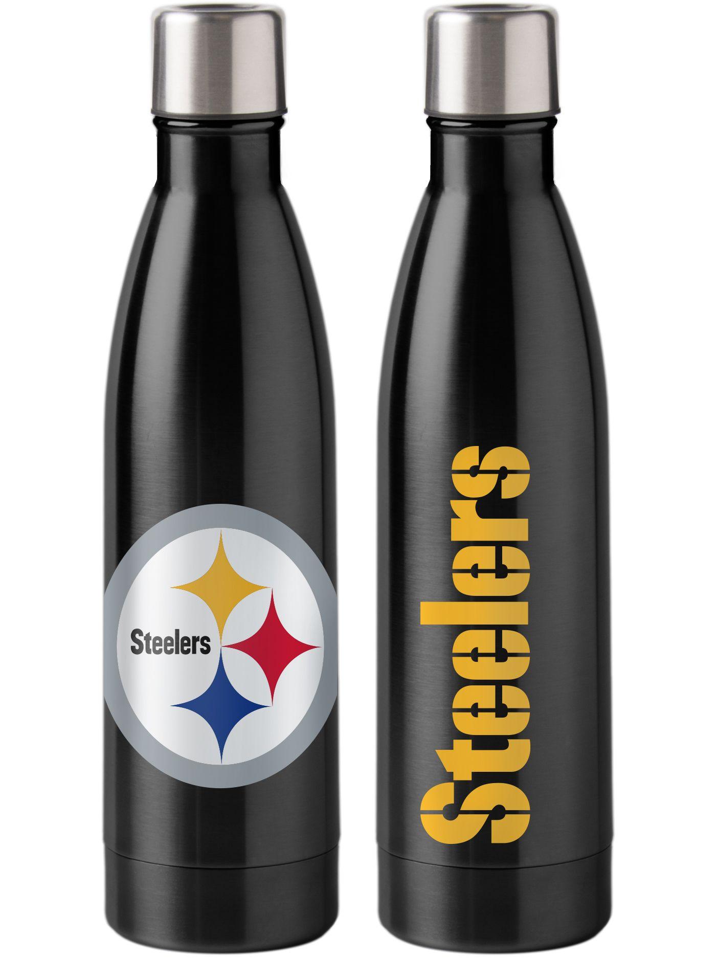 Boelter Pittsburgh Steelers Stainless Steel Water Bottle