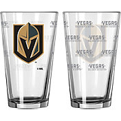 Boelter Vegas Golden Knights Satin 16oz. Pint Glass