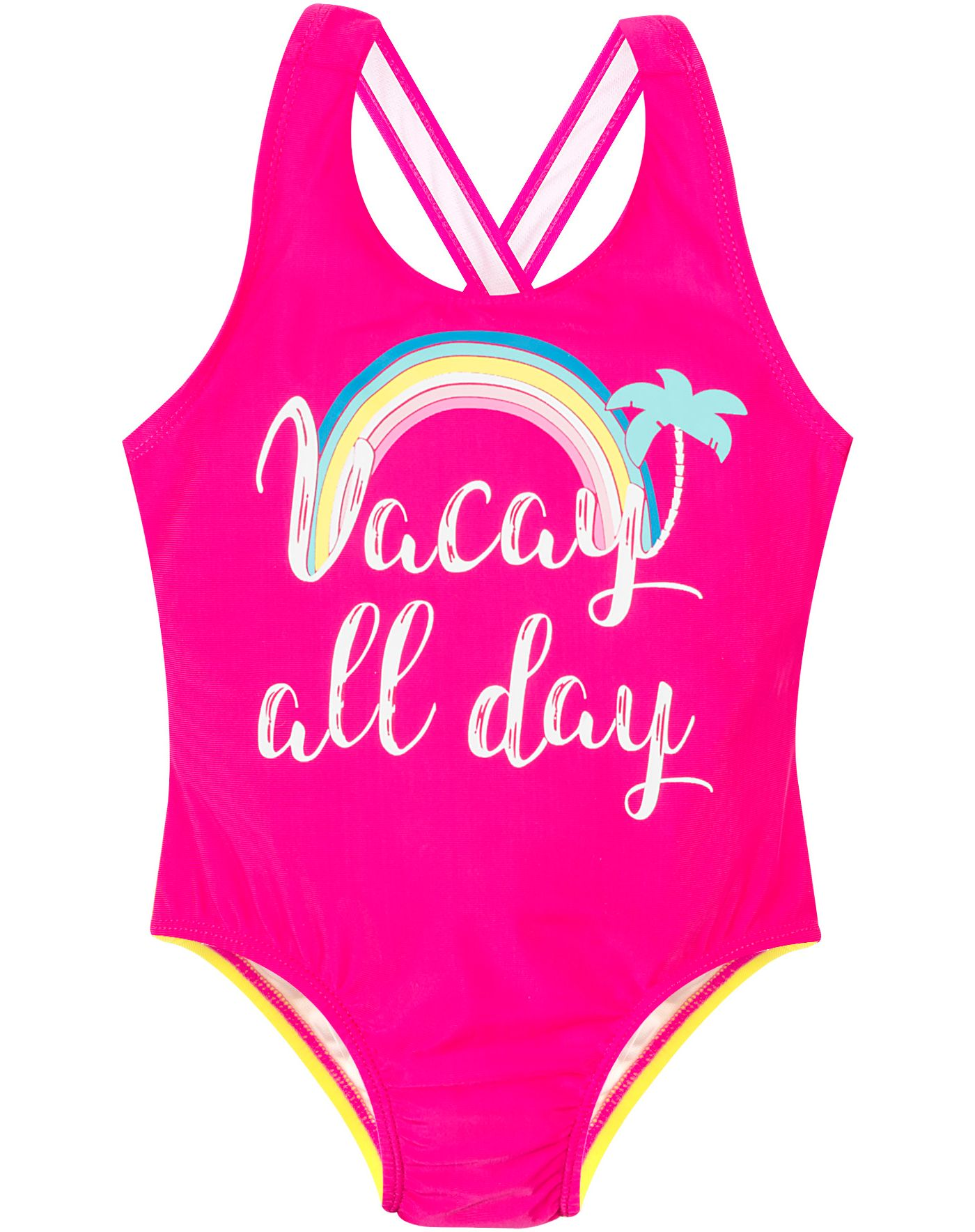 Banana Boat Toddler Girls' Crossback One Piece Swimsuit