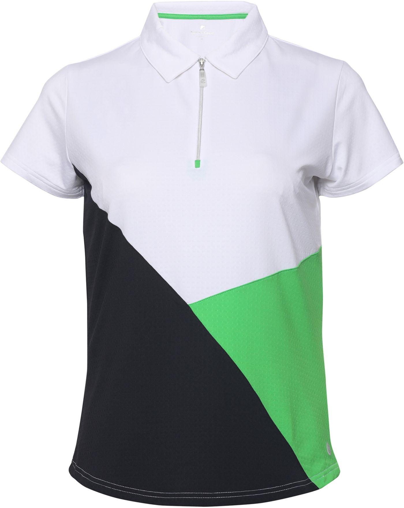 Bette & Court Women's Blithe Short Sleeve Golf Polo