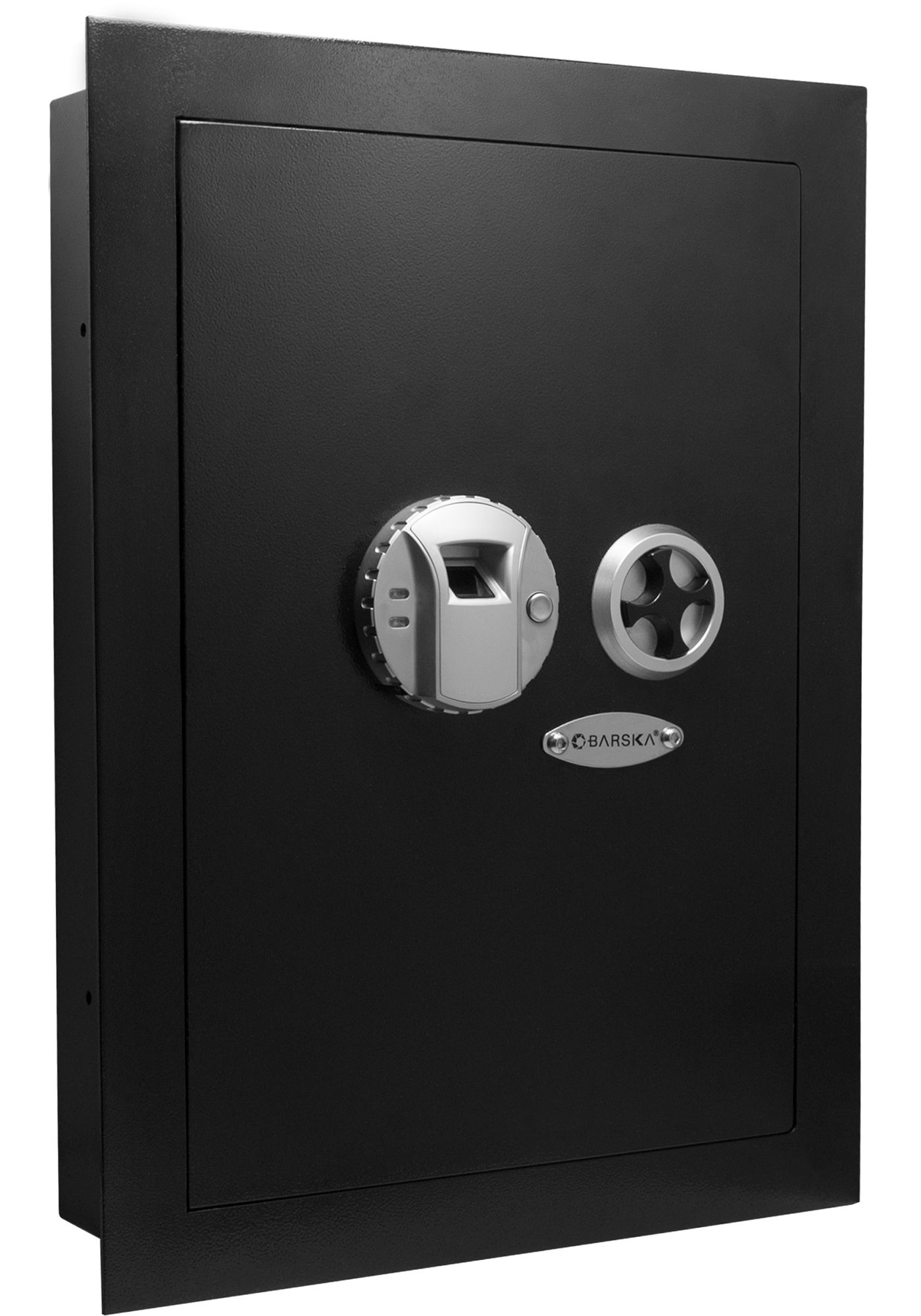 Barska Left Opening Wall Safe with Biometric Lock