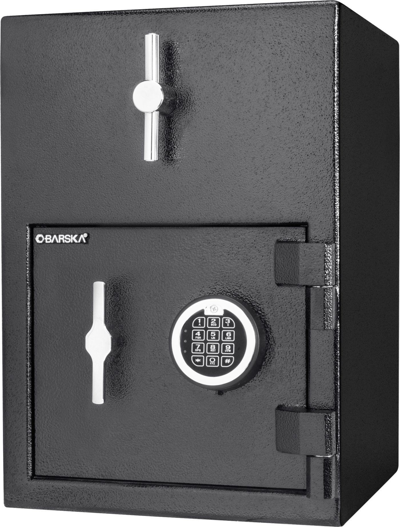 Barska Rotary Hopper Depository Safe with Keypad Lock