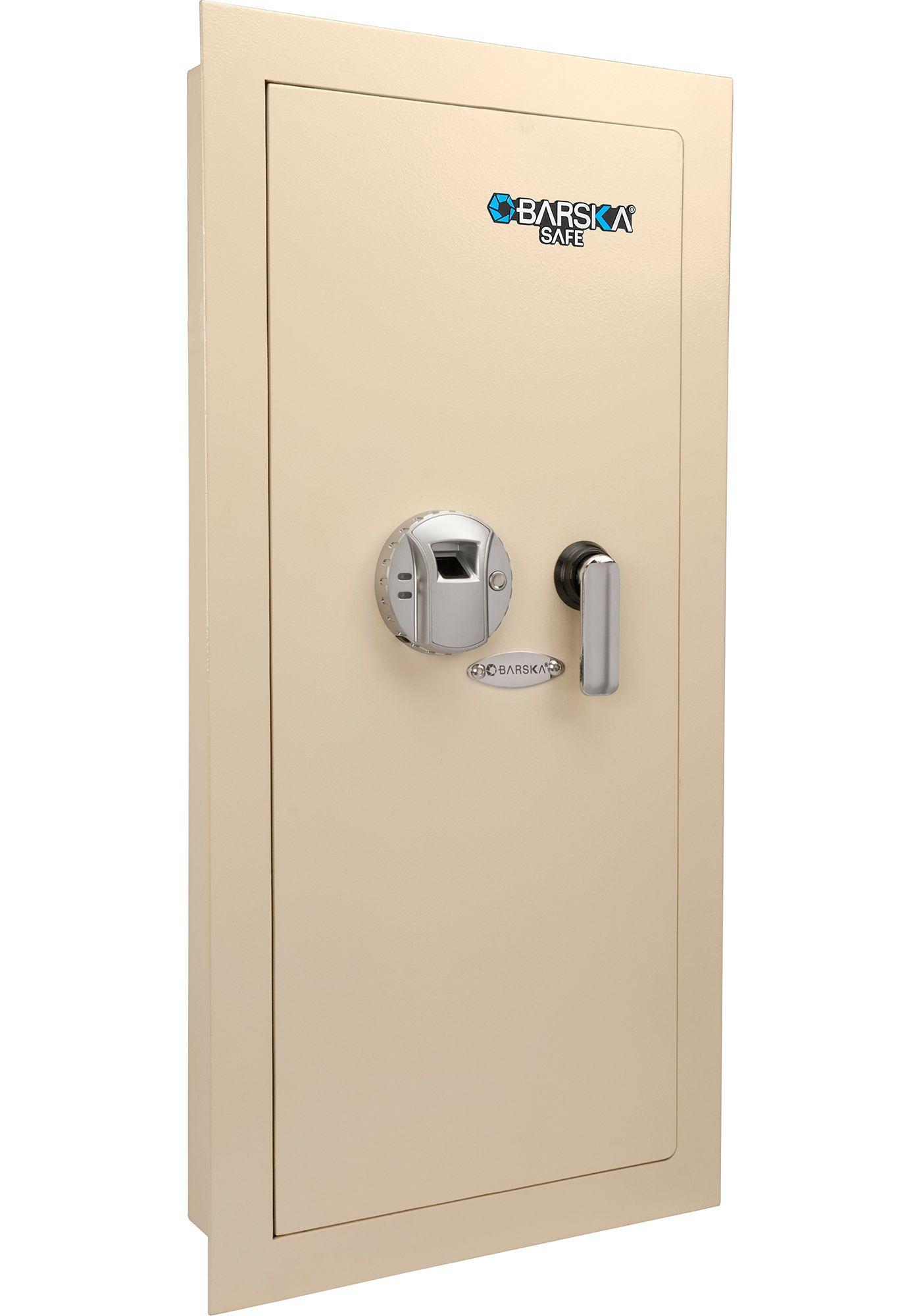 Barska Large Left Opening Wall Safe with Biometric Lock