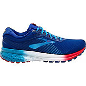 Brooks Men's Ghost 12 Running Shoes in Red/White/Blue