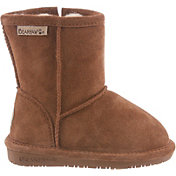 BEARPAW Kids' Eva Zip Casual Boots