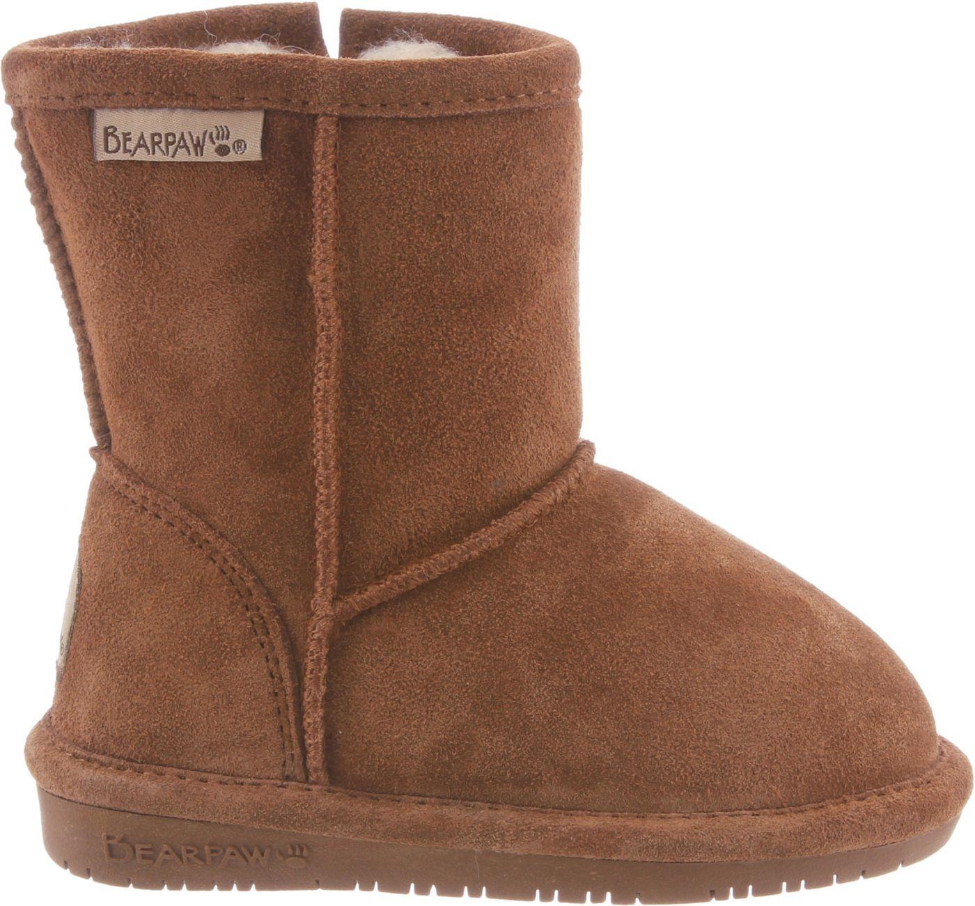 BEARPAW Kids' Eva Zip Casual Boots