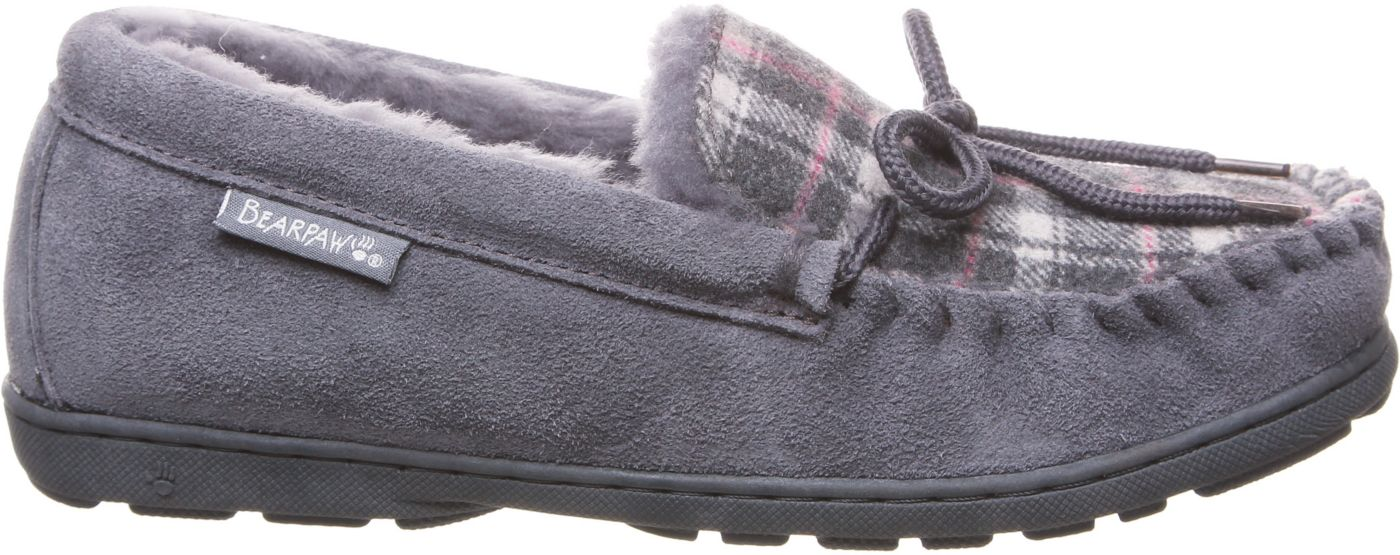 BEARPAW Women's Mindy II Plaid Slippers