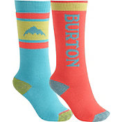 Burton Youth Weekend Midweight Socks 2 Pack