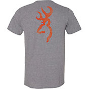 Browning Men's Distress Buckmark T-Shirt