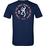 Browning Men's Land of the Free Circle T-Shirt