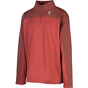 Browning Men's Milo 1/4 Zip Fleece Pullover