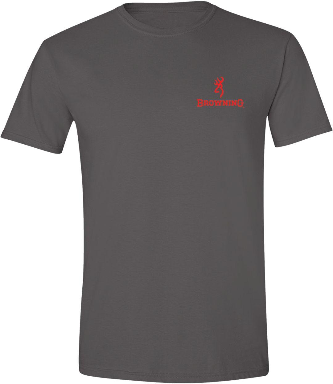 Browning Men S Tonal Flag T Shirt