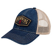 Browning Men's Slack Denim Snapback Hat