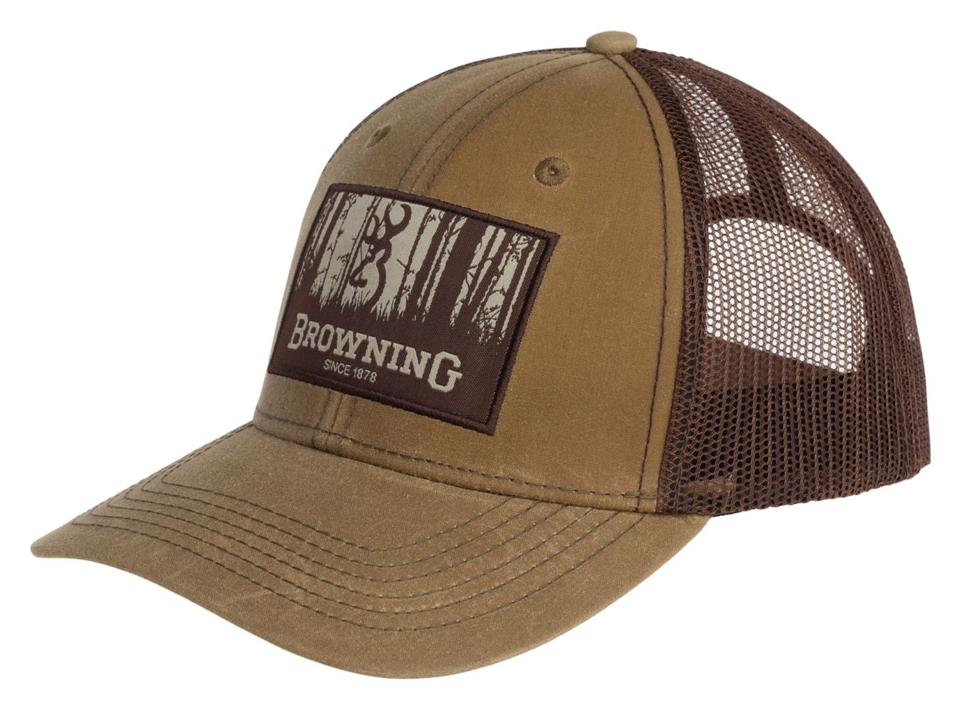 Browning Men's Timber Wax Meshback Hat