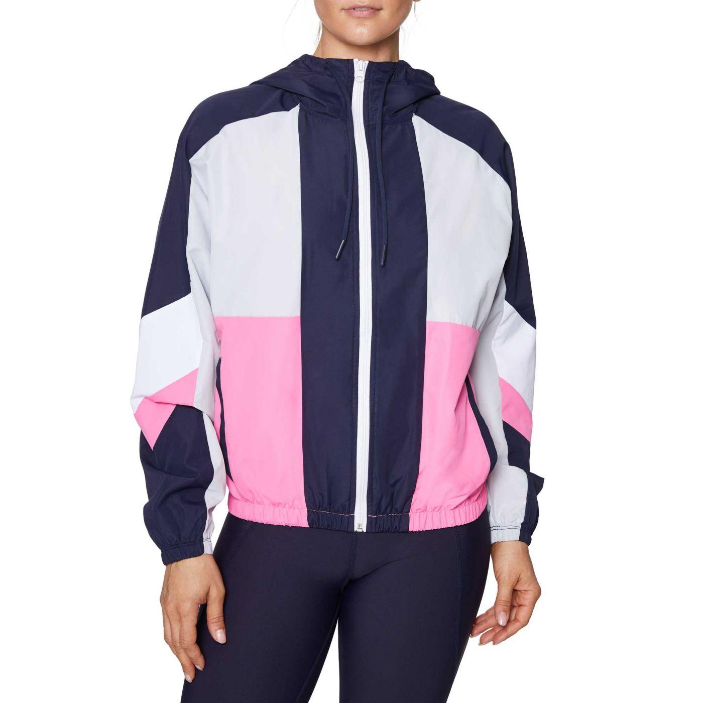 Betsey Johnson Women's Colorblock Woven Jacket