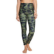 Betsey Johnson Women's Camo High Rise Ankle Legging