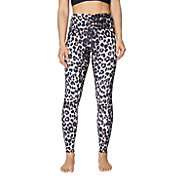 Betsey Johnson Women's Capri Leopard Print Extra High Rise Legging