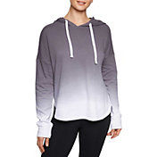 Betsey Johnson Women's Dip Dye Scallop Hoodie