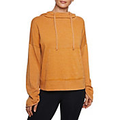 Betsey Johnson Women's Distressed Bell Sleeve Hoodie
