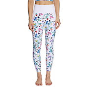 Betsey Johnson Women's Floral High Rise 7/8 Printed Legging