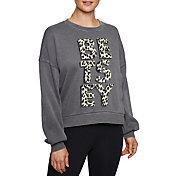 Betsey Johnson Women's Leopard Sweatshirt