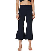 Betsey Johnson Women's Split Hem Flare 7/8 Pant