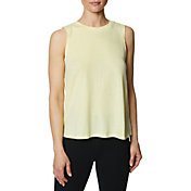 Betsey Johnson Women's Tie Up Back Swim Muscle Tank Top