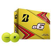 Bridgestone 2019 e6 Optic Yellow Golf Balls