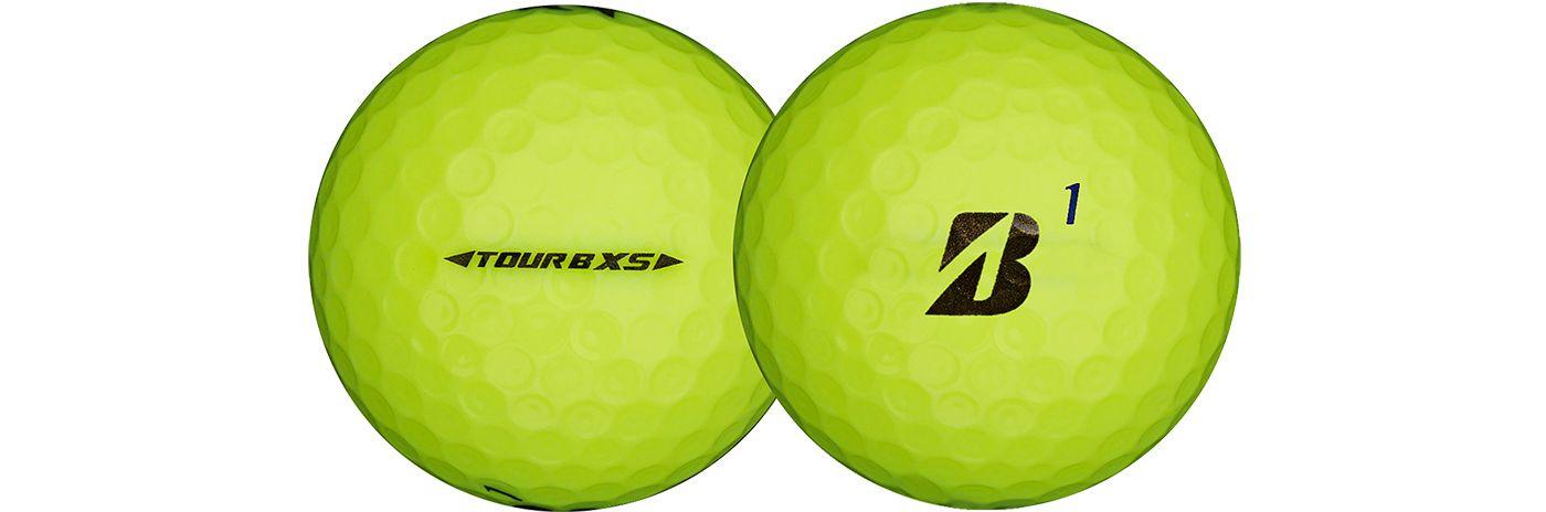 Bridgestone TOUR B XS Optic Yellow Golf Balls