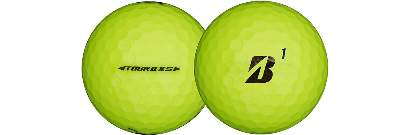 Bridgestone TOUR B XS Optic Yellow Golf Balls