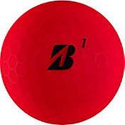 Bridgestone e12 SOFT Matte Red Personalized Golf Balls