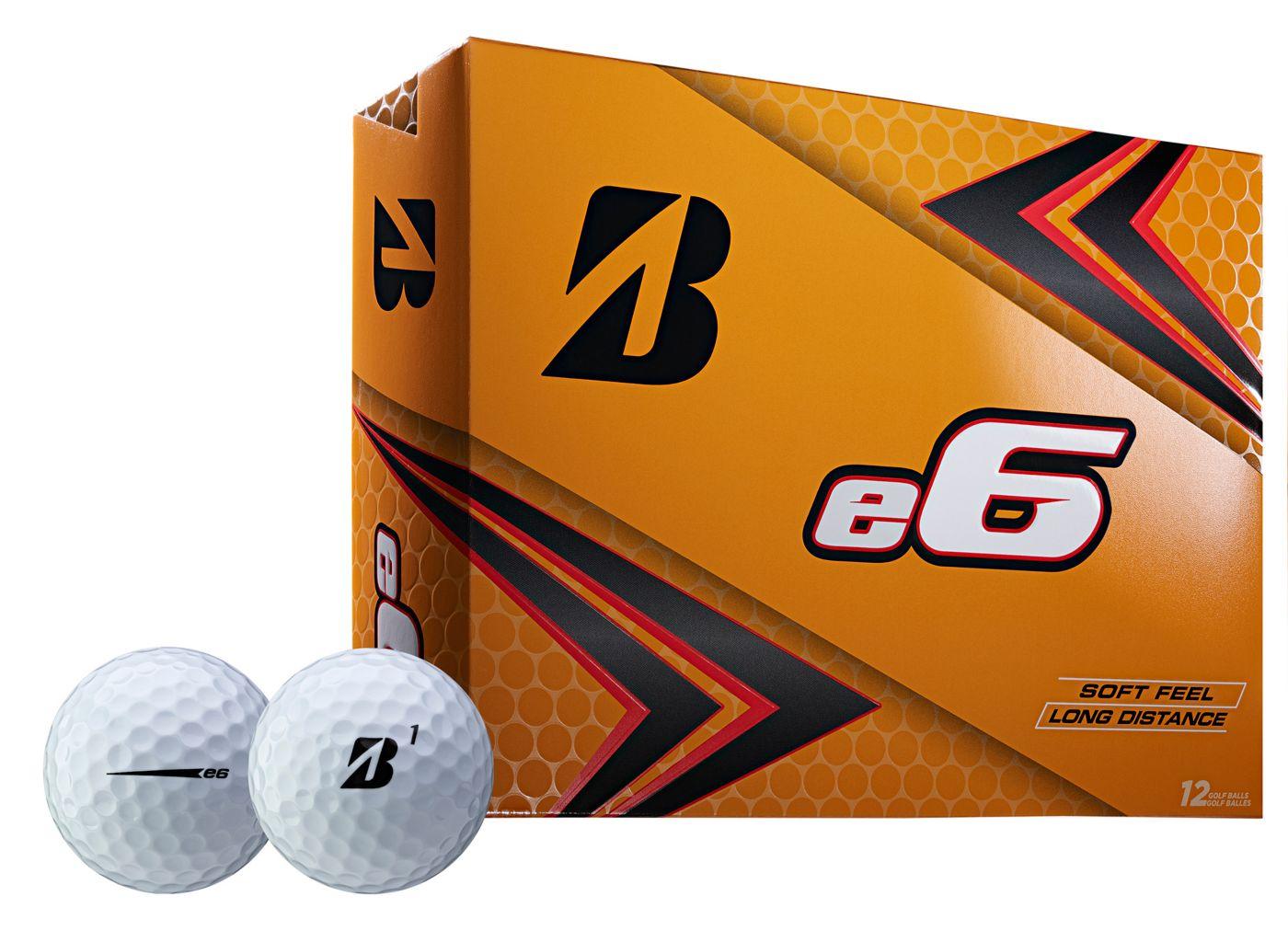Bridgestone 2019 e6 Personalized Golf Balls