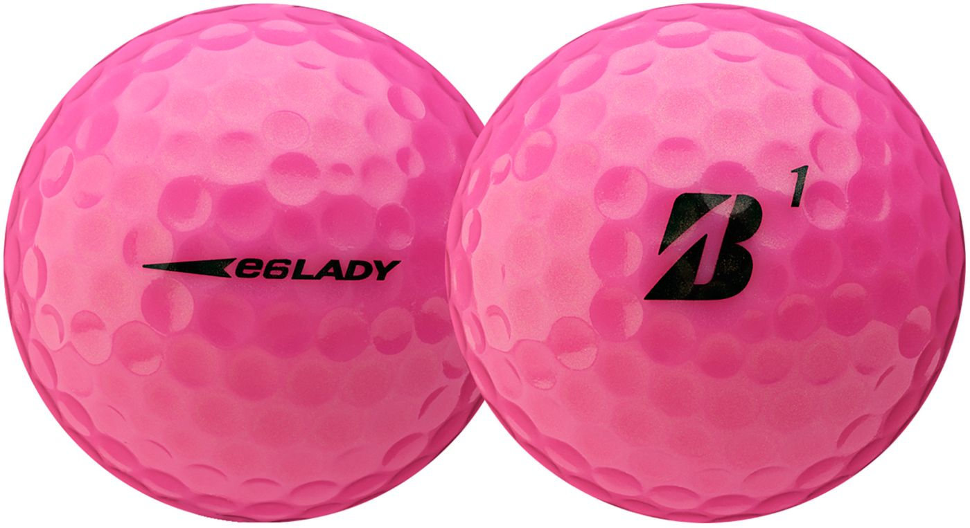 Bridgestone Women's 2019 e6 LADY Optic Pink Golf Balls