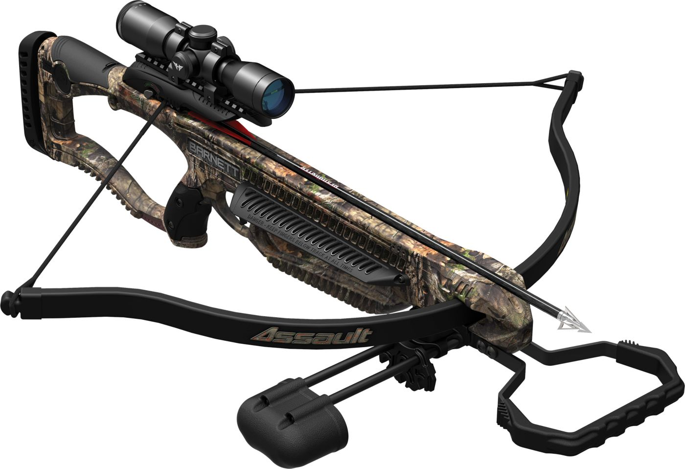 Barnett Assault Recurve Crossbow Package - 245 fps