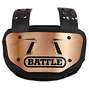 Battle Adult Chrome Football Back Plate