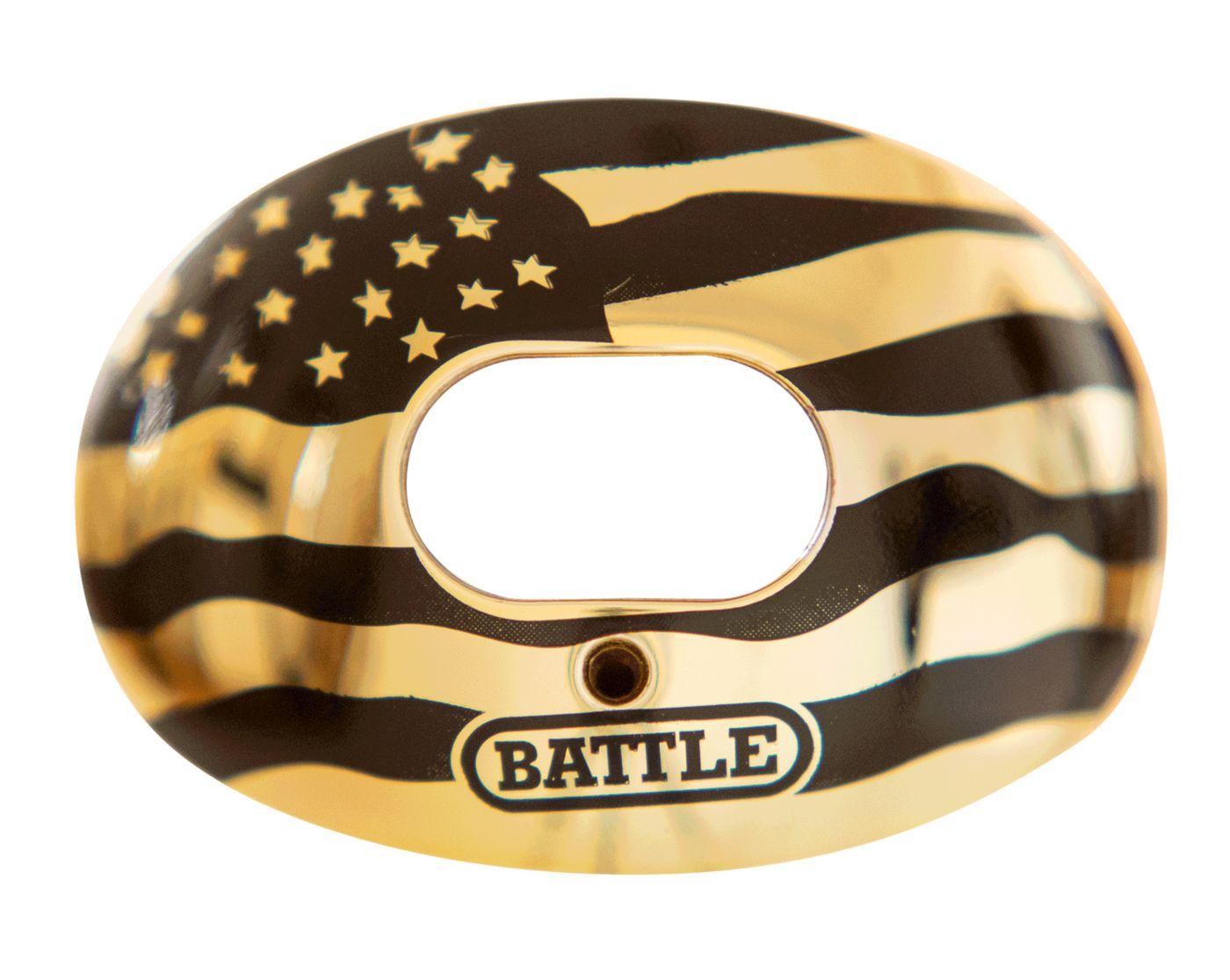 Battle Chrome American Flag Oxygen Lip Guard