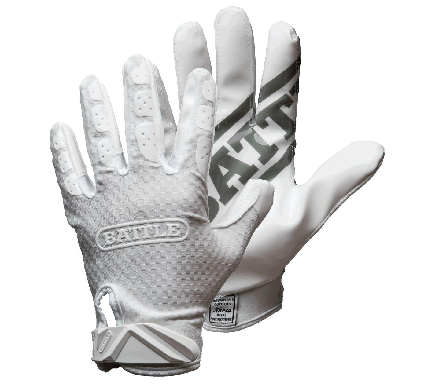 Battle Adult Triple Threat Receiver Gloves 2019