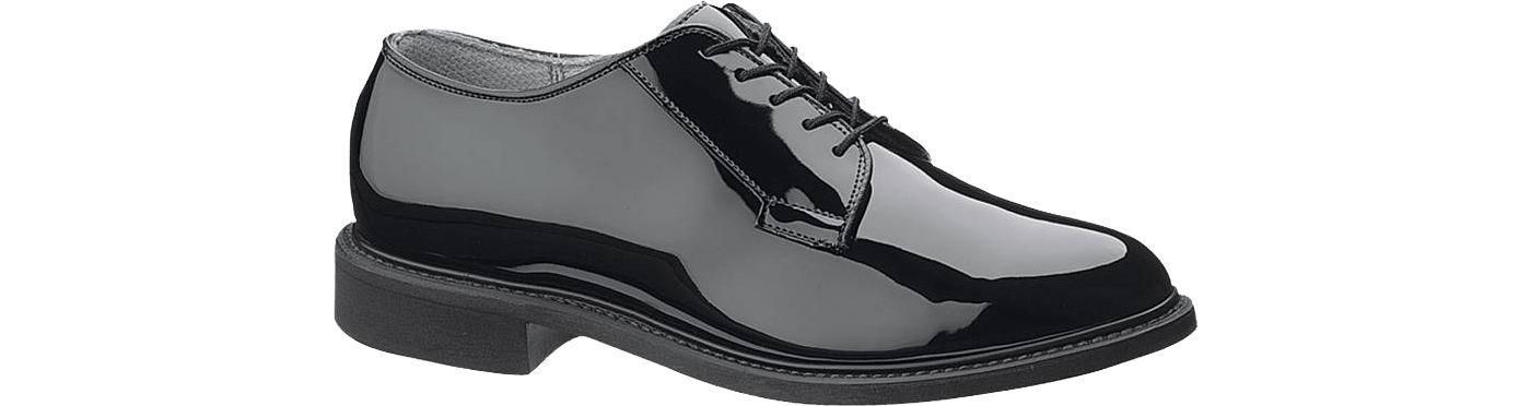 Bates Men's High Gloss Oxford Shoes