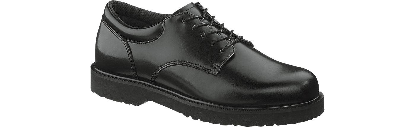 Bates Men's High Shine Duty Oxford Shoes