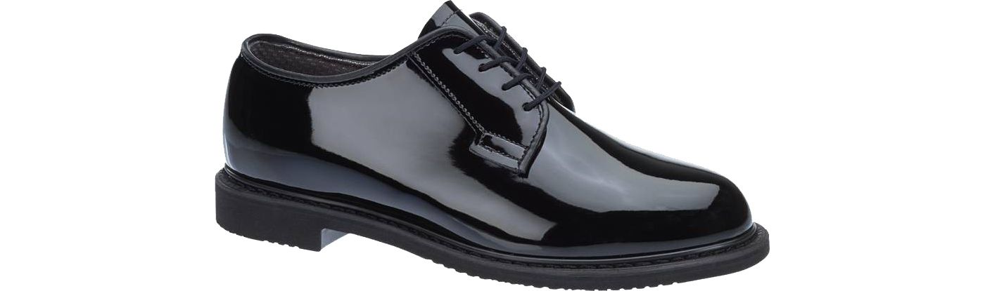 Bates Men's Lites High Gloss Oxford Shoes