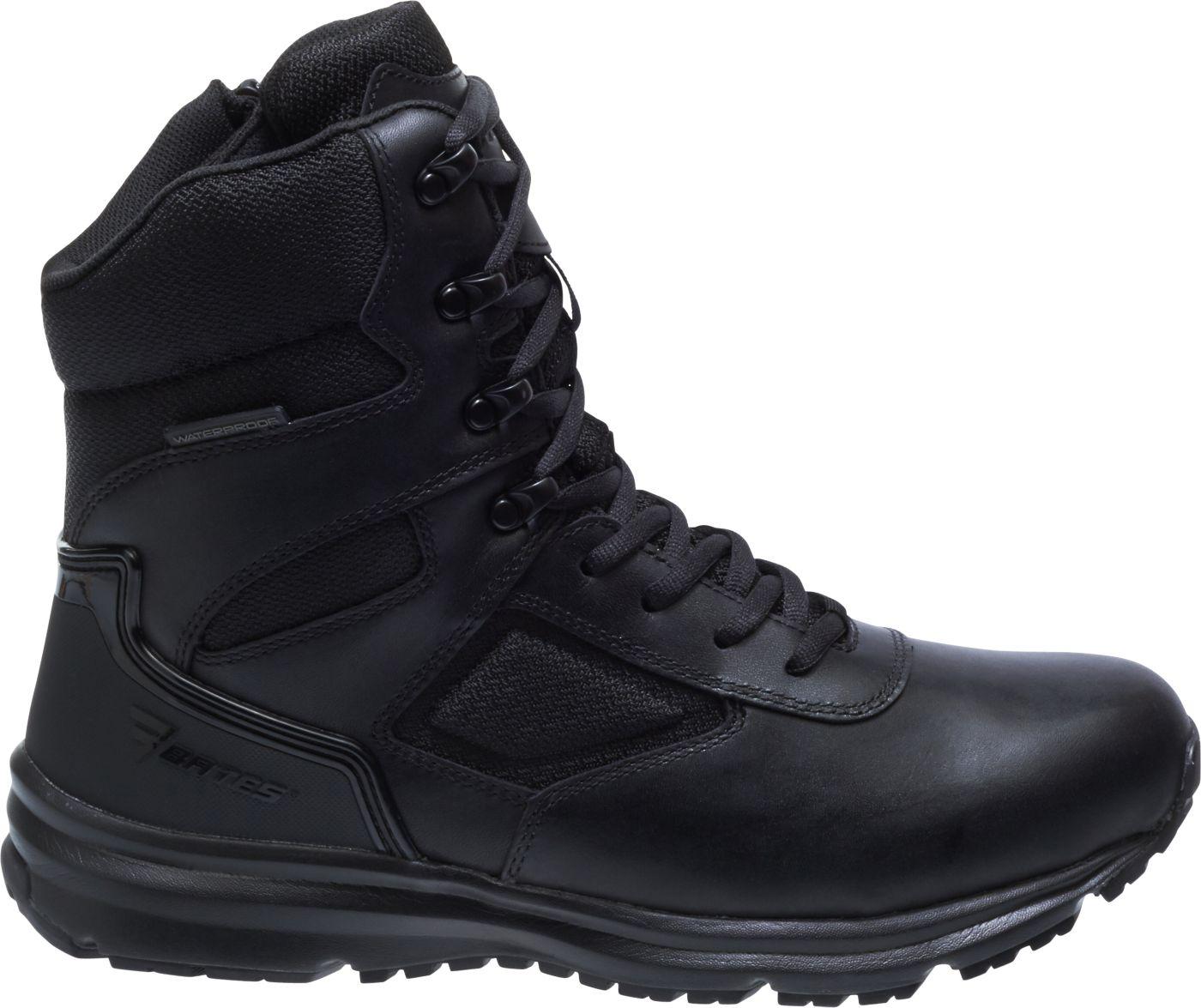 Bates Men's Raide Waterproof Side Zip Work Boots