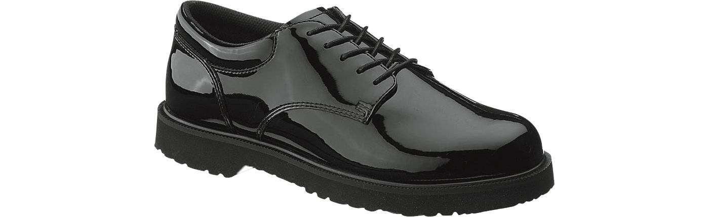 Bates Women's High Gloss Duty Oxford Shoes